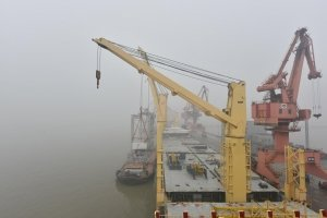 AAL Hong Kong - 3rd Loading Automated Stacking Cranes in Shanghai, China