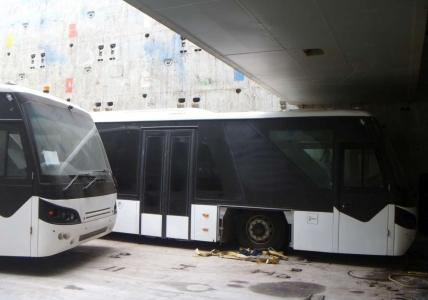 AAL Hong Kong - Discharge of Buses in Melbourne, Australia