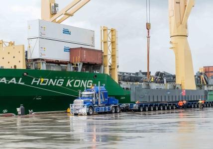 AAL Hong Kong - Discharge of Reclaimer in Newcastle, Australia