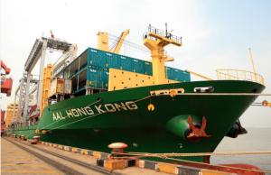 AAL Hong Kong - loading Automated Stacking Cranes in Shanghai, China