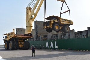 AAL Dampier - Trucks to Nakhodka for Freightplus